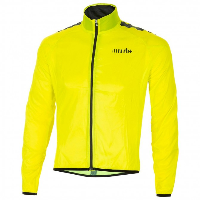 Chaqueta ciclismo Zero Rh+ Emergency Pocket Unisex amarillo