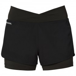 Shorts running Rossignol Poursuite Mujer negro
