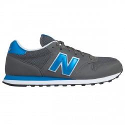 Sneakers New Balance 500 Uomo grigio-royal