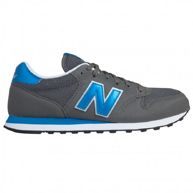 Sneakers New Balance 500 Uomo grigio-royal NEW BALANCE Scarpe moda