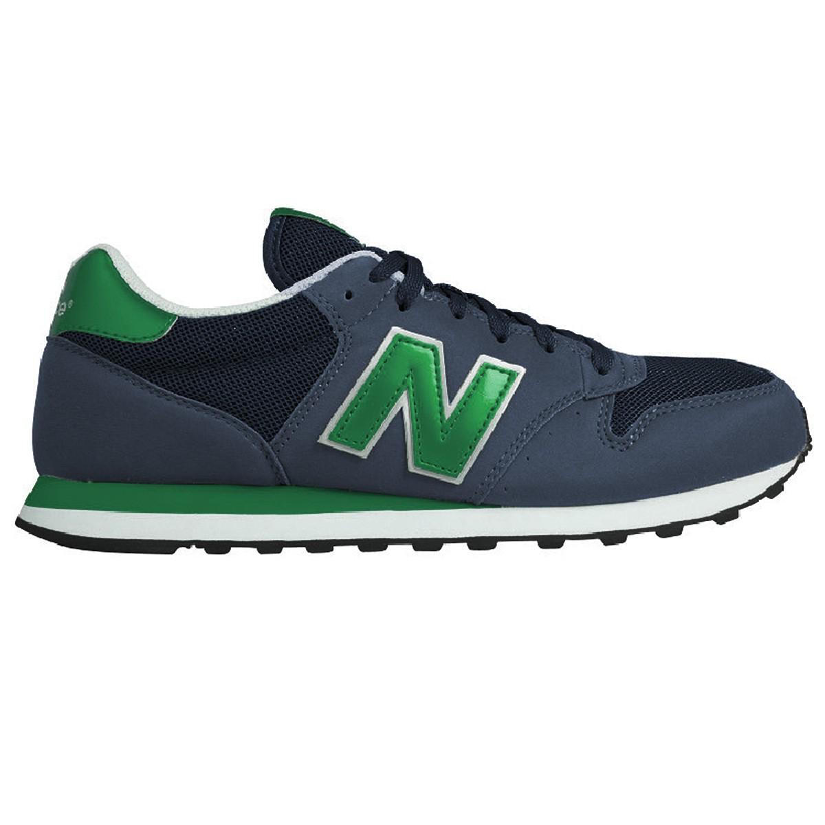 new balance 500 uomo verde