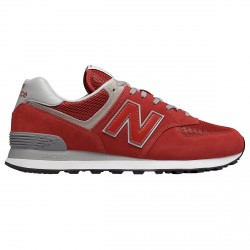 Sneakers New Balance 574 Homme rouge