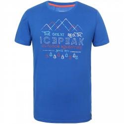 T-shirt trekking Icepeak Shawn Uomo blu