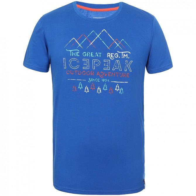 T-shirt trekking Icepeak Shawn Hombre azul