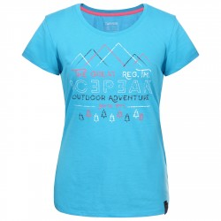 T-shirt trekking Icepeak Stacy Donna turchese