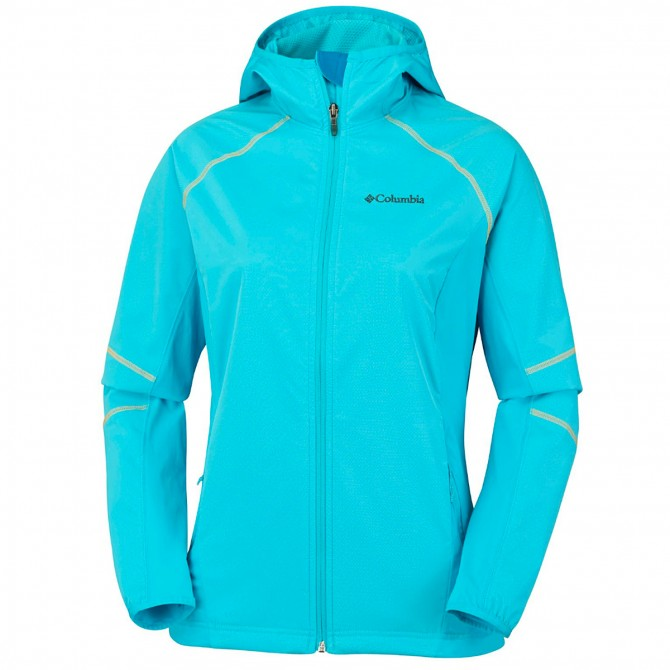 Softshell trekking Columbia Sweet As Mujer blanco