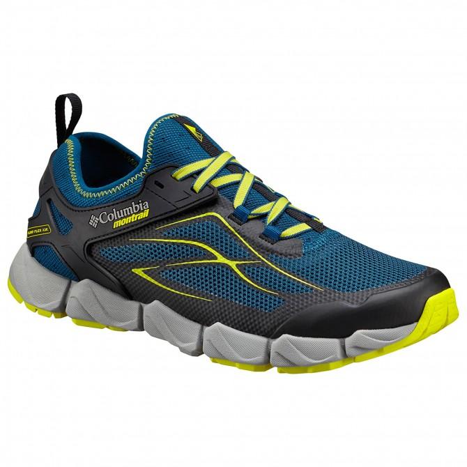 Chaussures trail running Columbia Fluidflex X.S.R. Homme bleu