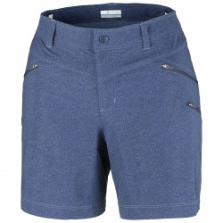 Short trekking Columbia Peak to Point Femme bleu