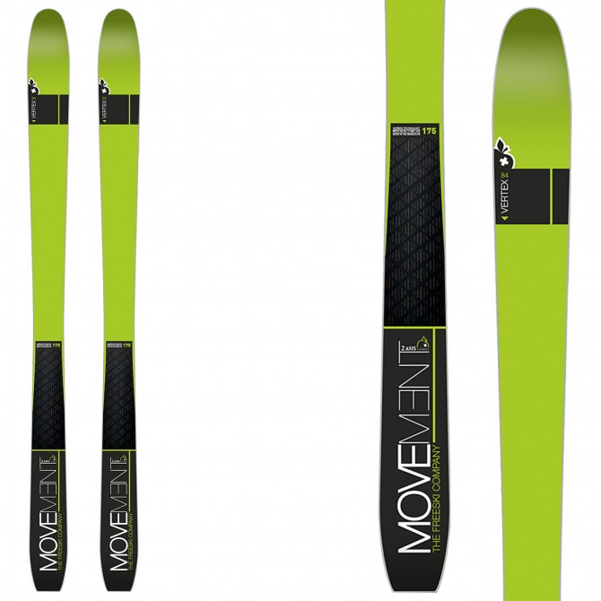 Touring ski Movement Vertex 2 Carbon
