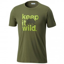 T-shirt trekking Columbia Miller Valley Hombre