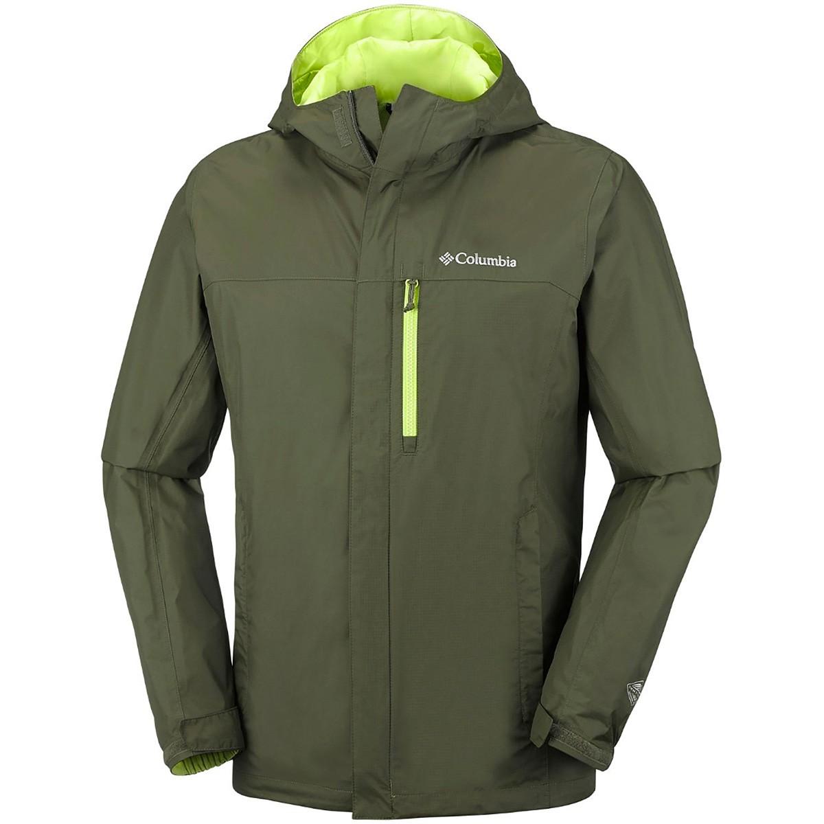 Rain jacket Columbia Pouring Adventure II Man - Outdoor ...