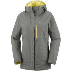 Rain jacket Columbia Pouring Adventure II Woman