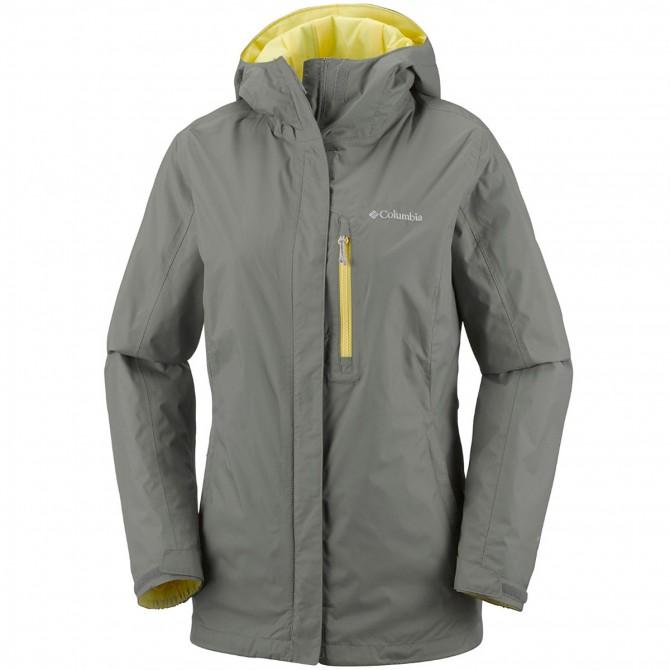 Rain jacket Columbia Pouring Adventure II Woman