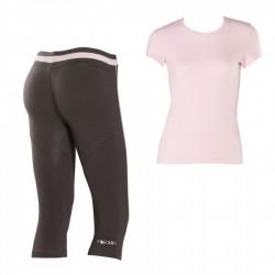 conjunto Freddy pantalones + t-shirt mujer