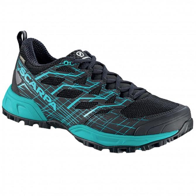 Chaussures trail running Scarpa Neutron 2 Gtx Femme noir-bleu