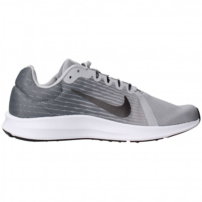 Sneakers Nike Downshifter 8 Hombre plata