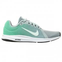 Chaussures running Nike Downshifter 8 Femme vert-argent