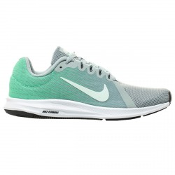 Running shoes Nike Downshifter 8 Woman green-silver