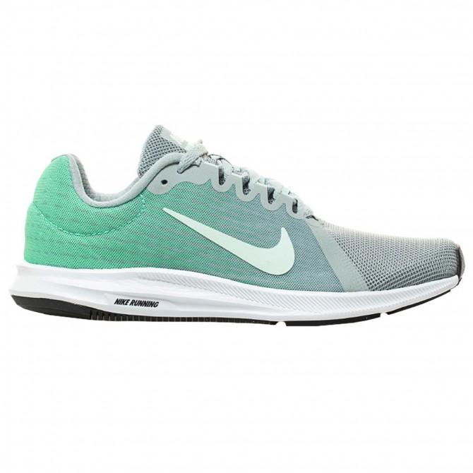 Sneakers Nike Downshifter 8 Femme vert-argent