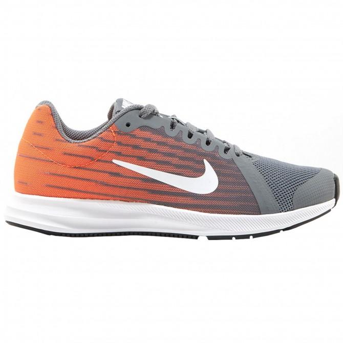 8b3d03bd4b7ac Sneakers Nike Downshifter 8 Donna grigio-arancione - Bottero Ski