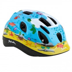 Casco ciclismo Spiuk Kids azzurro