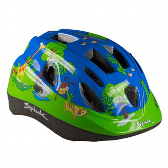 Casco ciclismo Spiuk Kids blu