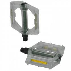 Pedale con piattforma XLC PD-M16 trasparente