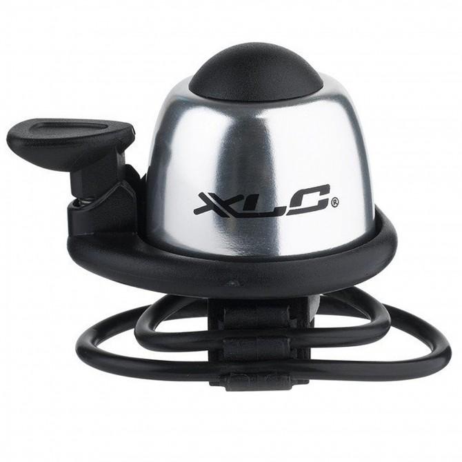 Mini campanello XLC DD-M07 argento XLC Ricambi ciclismo