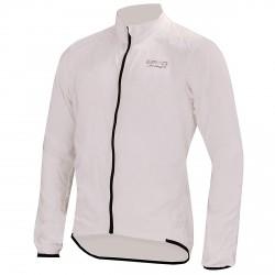 Giacca ciclismo Briko Packable Piuma Donna bianco