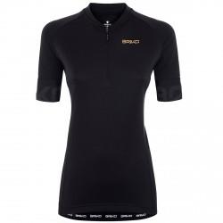 Jersey cyclisme Briko Classic Lady Femme noir