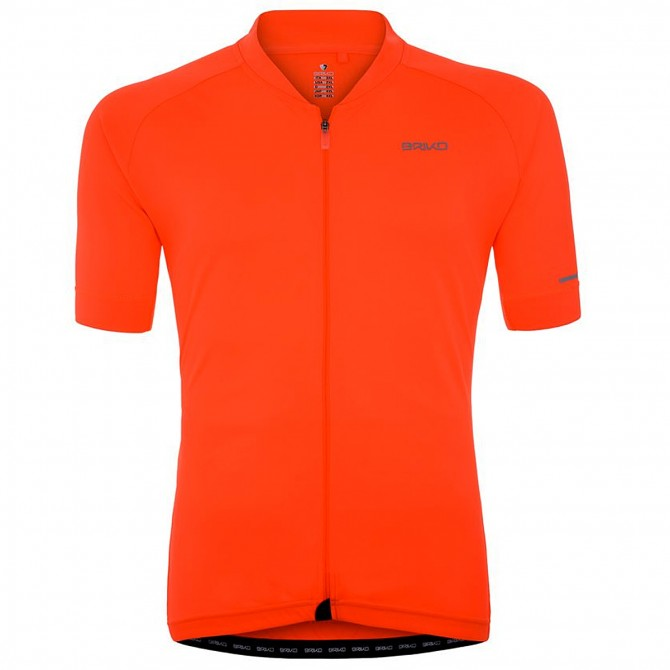 Bike jersey Briko Classic Full Man orange