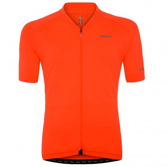 Maglia ciclismo Briko Classic Full Uomo arancione