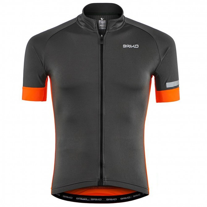 Jersey ciclismo Briko Classic Side Hombre gris