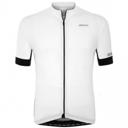 Jersey cyclisme Briko Classic Side Homme blanc