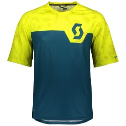 T-shirt ciclismo Scott Trail 20 Uomo giallo