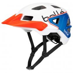 Casco ciclismo Bollè Trackdown Tricolor