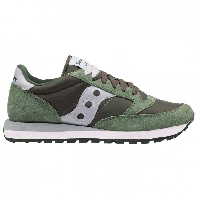 Sneakers Saucony Jazz Original Homme vert-gris
