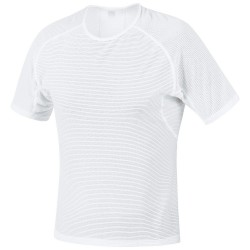 Camiseta Gore M Base Layer Hombre blanco