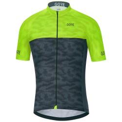 Maglia ciclismo Gore C3 Cameleon Uomo lime