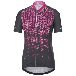 Jersey ciclismo Gore C3 Petals Mujer