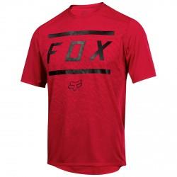 T-shirt ciclismo Fox Ranger Ragazzo rosso