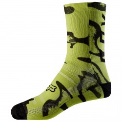 Calcetines ciclismo Fox Print Trail Hombre
