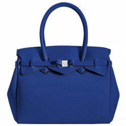 Borsa Save My Bag Miss blu elettrico