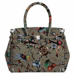 Bolsa Save My Bag Miss Tattoo Kaki