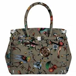 Sac Save My Bag Miss Tattoo Kaki