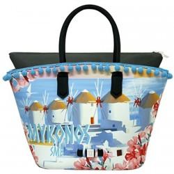 Borsa Save My Bag J-Tropezienne Mykonos