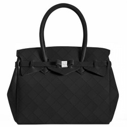 Bolsa Save My Bag Miss Paris negro