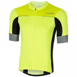 Jersey ciclismo Zero Rh+ Lapse Jersey Hombre amarillo