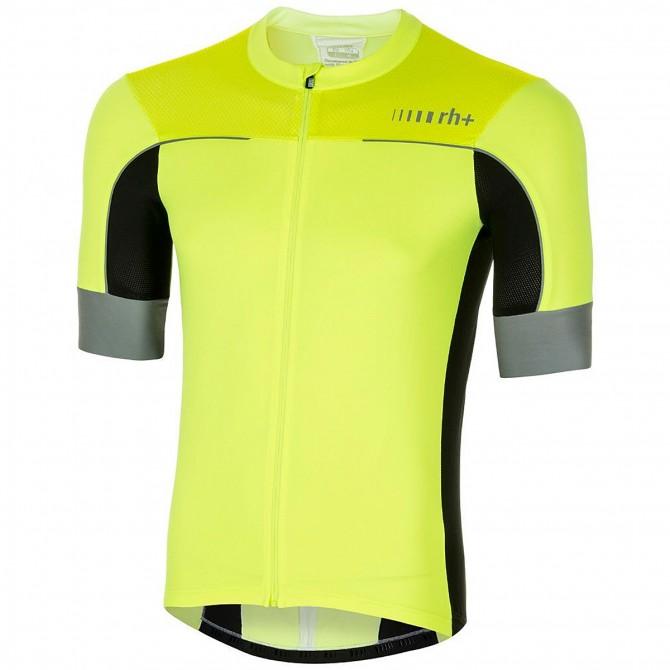 Chemise cyclisme Zero Rh+ Lapse Jersey Homme jaune