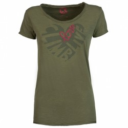 T-shirt trekking Rock Experience Seal Donna verde